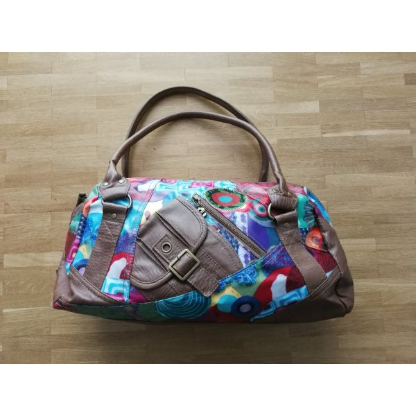 Desigual Carry Bag bronze-colored