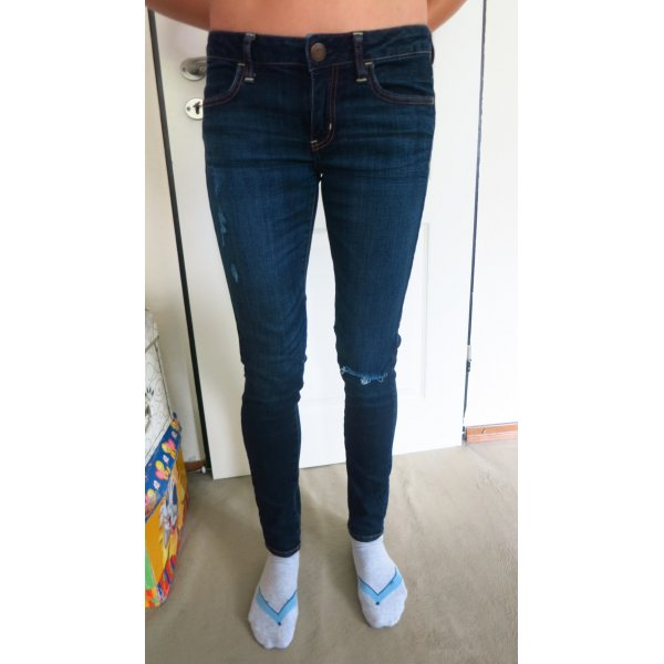 Destroyed ripped skinny Jeans Jeggins von American Eagle