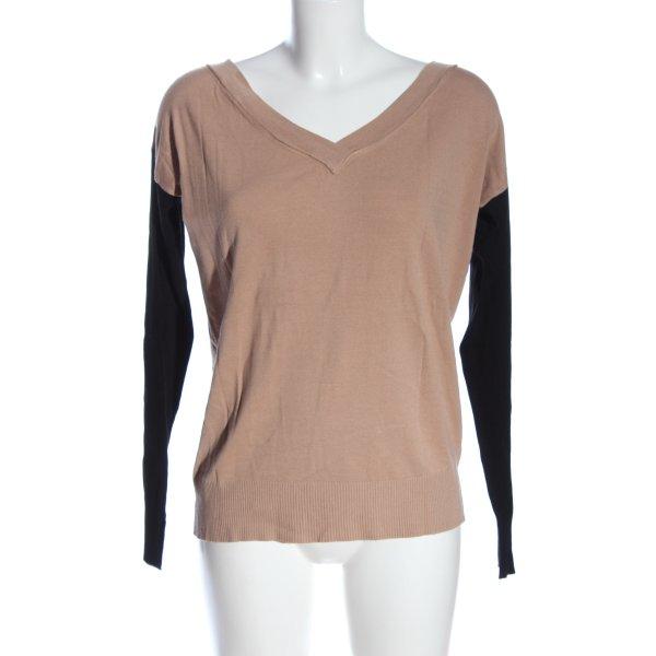 Devotion Strickshirt pink-schwarz Casual-Look