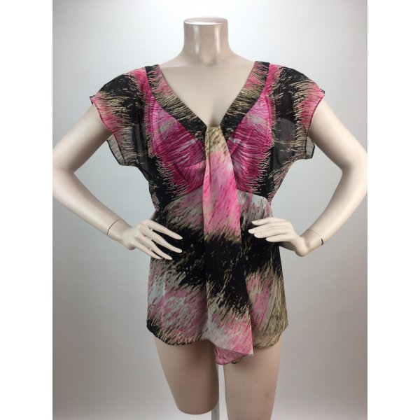 Diane von Furstenberg Zijden blouse veelkleurig
