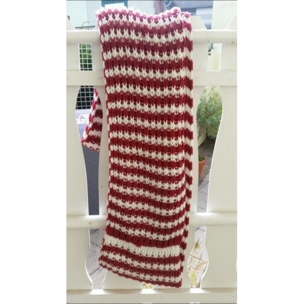 Dicker warmer Schal zum wickeln
