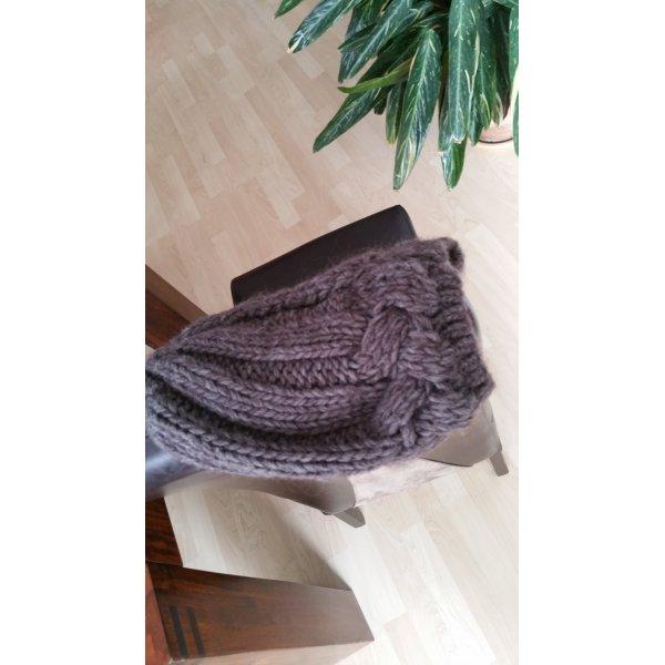 Berretto viola-grigio