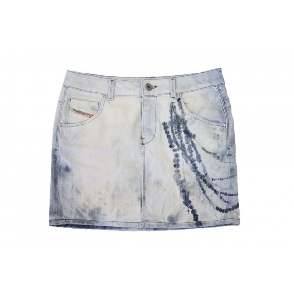 Diesel Jeansrock Washed Style