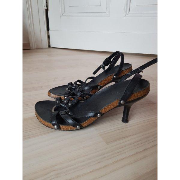 Diesel Sandaletten Kork Riemchen