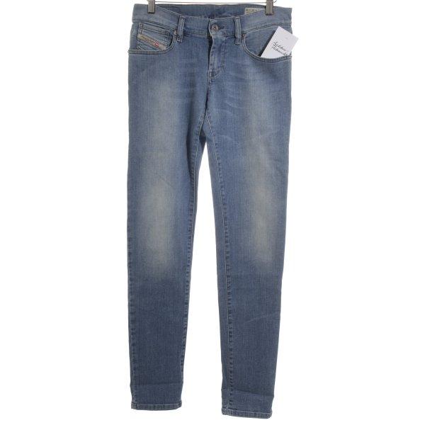 Diesel Slim Jeans kornblumenblau Casual-Look
