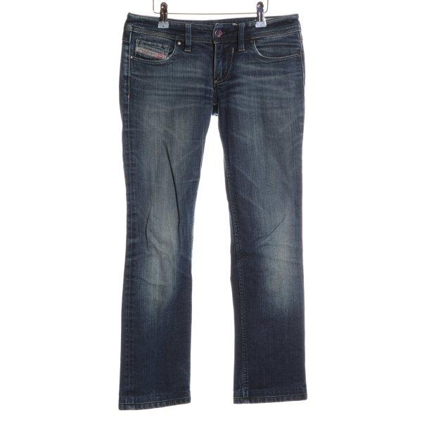 Diesel Straight-Leg Jeans blau Casual-Look