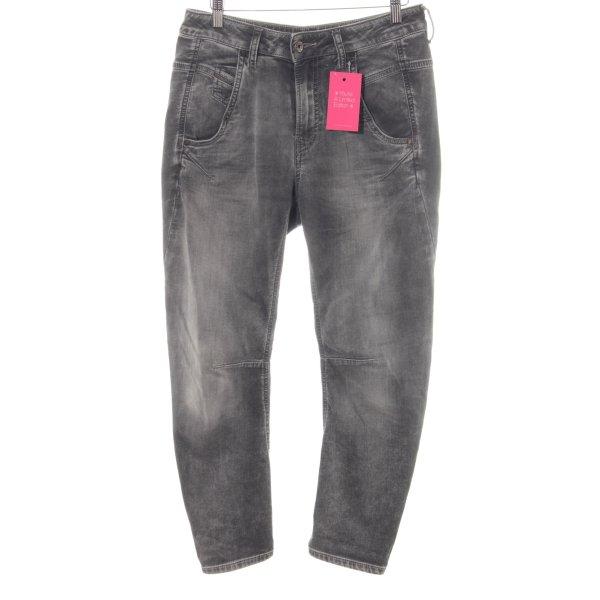 Diesel Stretch Jeans grau-anthrazit Casual-Look