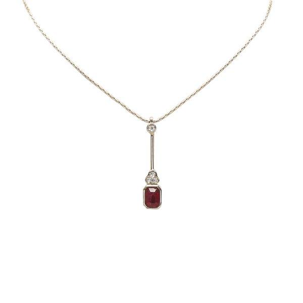 Dior Drop Pendant Necklace