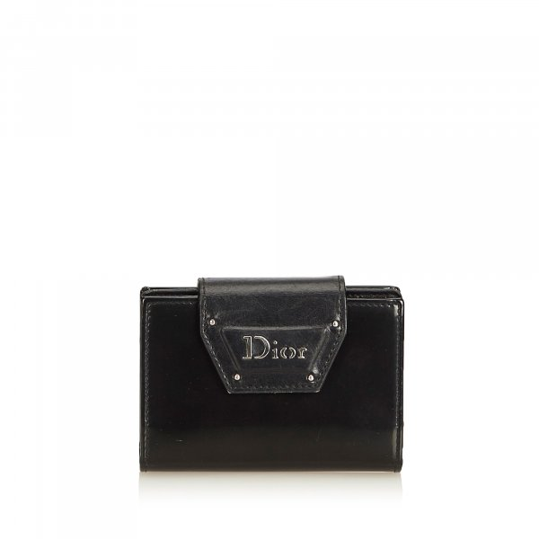 Dior Leather Business Card Holder