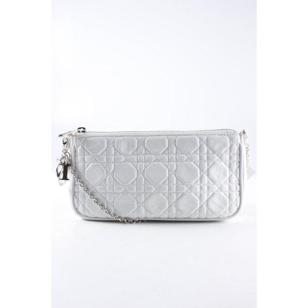Dior Minitasche weiß schlichter Stil