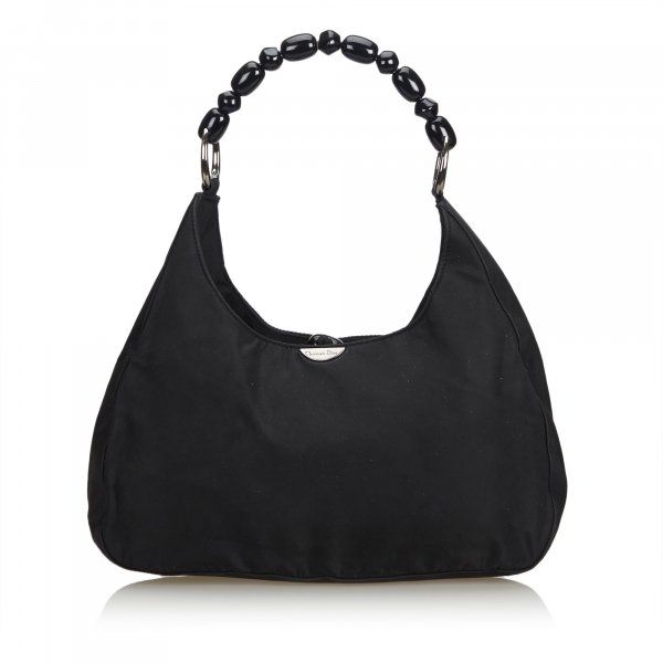 Dior Nylon Malice Pearl Shoulder Bag