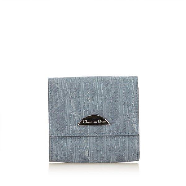 Dior Oblique Nylon Coin Pouch