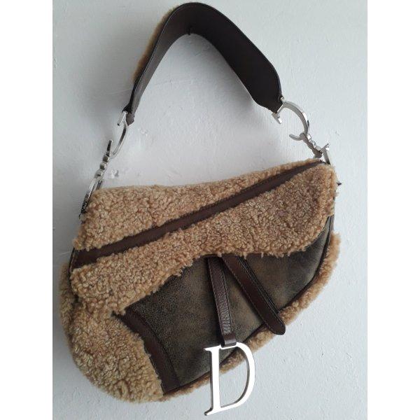 Christian Dior Crossbody bag camel-grey brown
