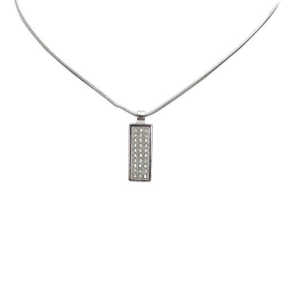 Dior Stone Pendant Necklace