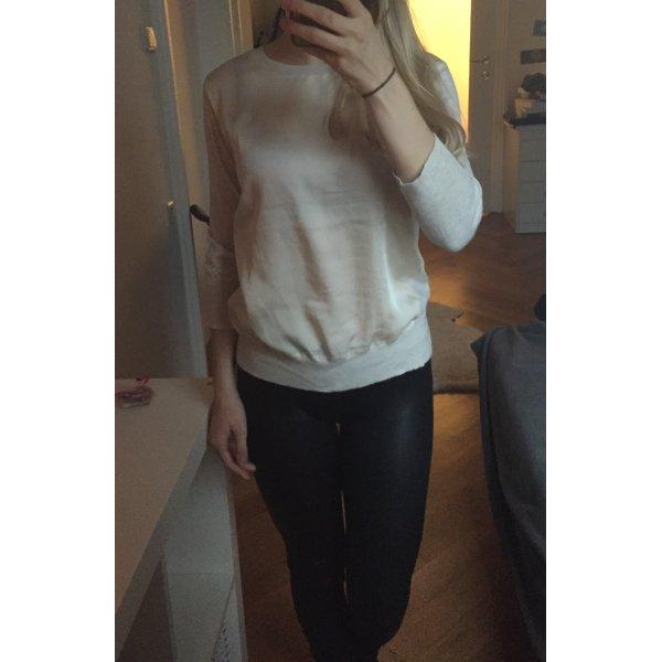 DKNY Donna Karren XS beige creme 34 36 pullover pulli strick bluse