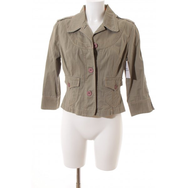 DKNY Jeans Denim Blazer green grey casual look
