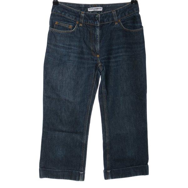 Dolce & Gabbana 3/4 Jeans blau Casual-Look
