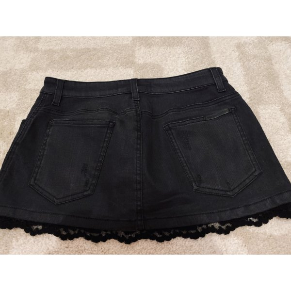 Dolce & Gabbana Miniskirt black cotton