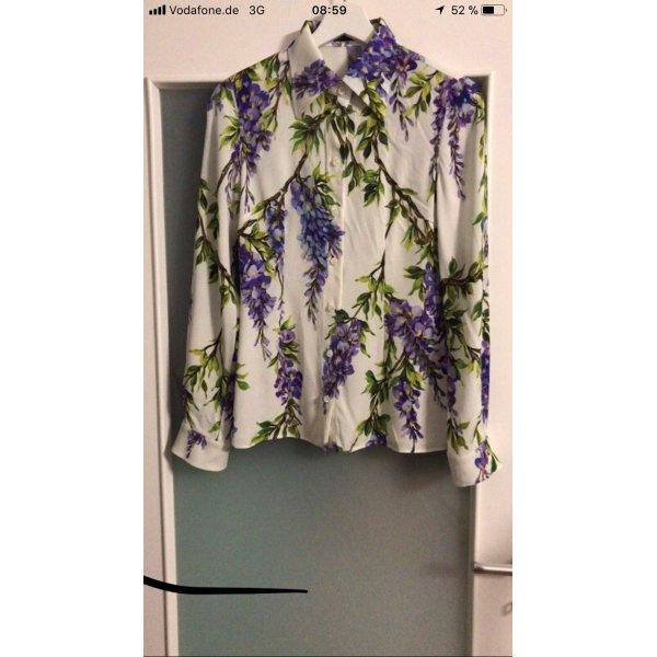 Dolce & Gabbana Blouse brillante multicolore
