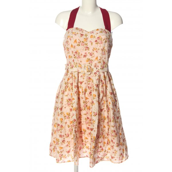 Dolly and Dotty Neckholderkleid Allover-Druck Casual-Look