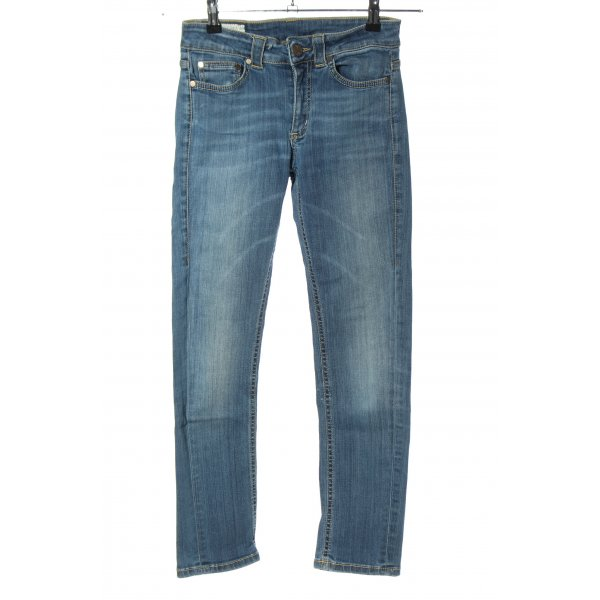 Dondup Skinny jeans blauw casual uitstraling