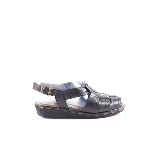 Dorndorf Komfort-Sandalen schwarz Casual-Look