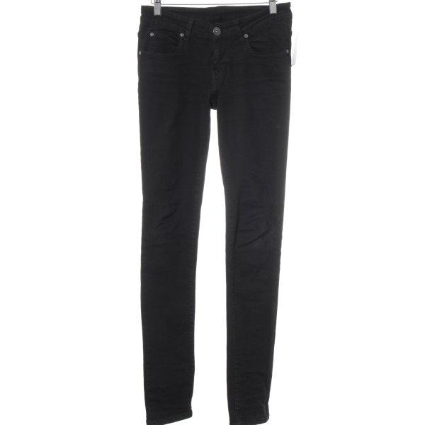 DRDENIM JEANSMAKERS Slim Jeans schwarz Street-Fashion-Look