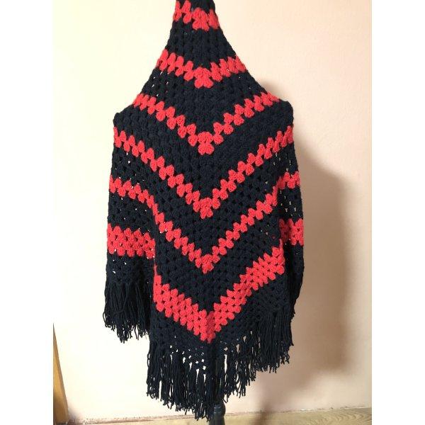 Bid Handmade Knitted Scarf multicolored