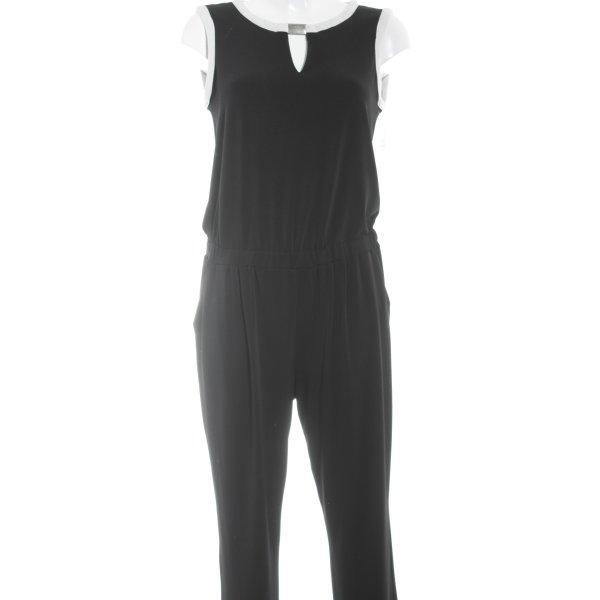 Dresses Unlimited Jumpsuit schwarz-weiß Elegant