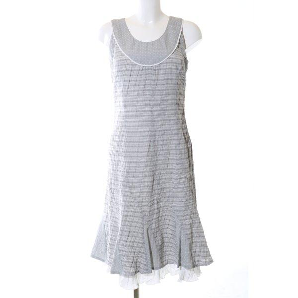 Dresses Unlimited Trägerkleid hellgrau Mustermix Casual-Look