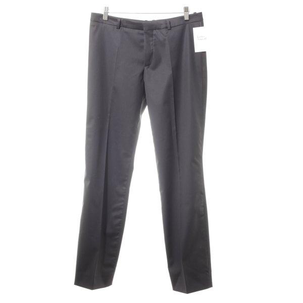 Drykorn Pantalon à pinces bleu foncé style d'affaires
