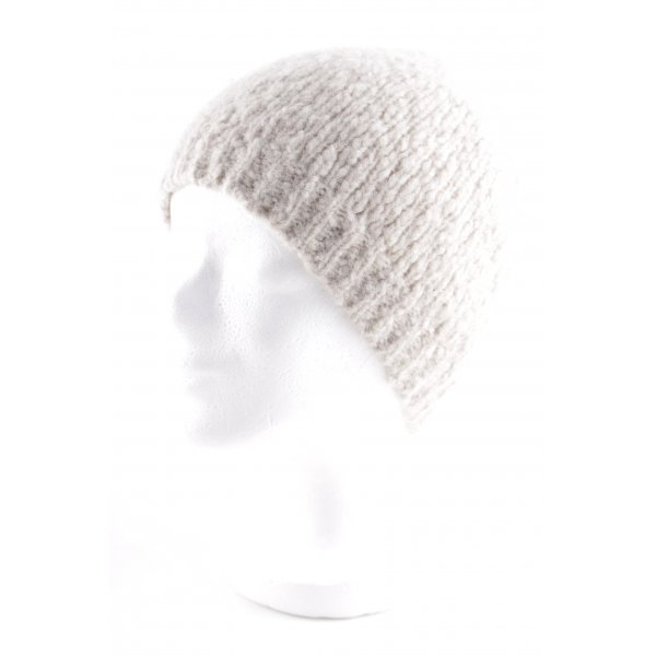 DRYKORN FOR BEAUTIFUL PEOPLE Chapeau en tricot crème style simple