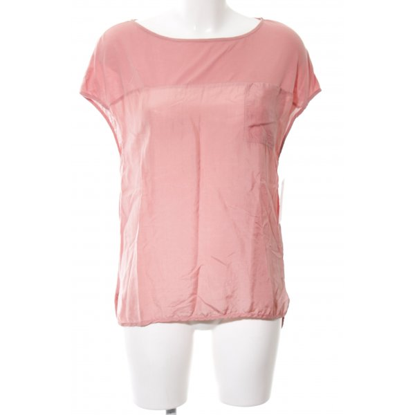 Drykorn Kurzarm-Bluse pink Casual-Look