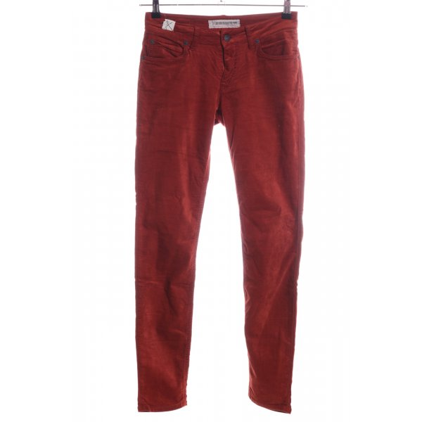Drykorn Stoffhose rot Casual-Look