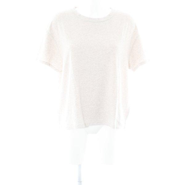 Drykorn T-Shirt hellbeige meliert Casual-Look