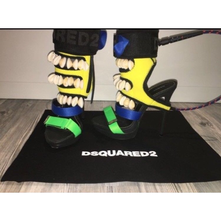 Dsquared high Heels DSQ Damen Schuhe 37
