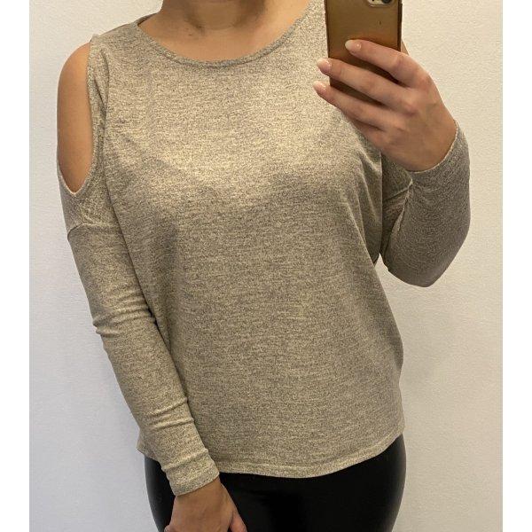 Dünn Sweatshirt mit Cut Outs