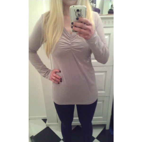 dünner fliederfarbener Pullover von Zero