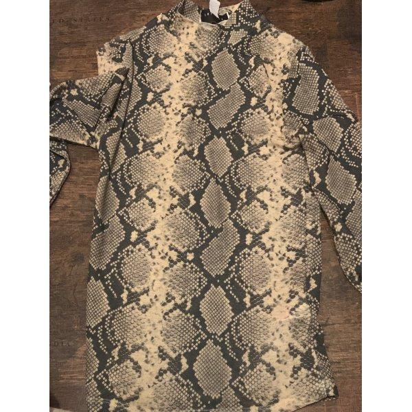 Dünnes, durchsichtiges Shirt mit Schlangenprint