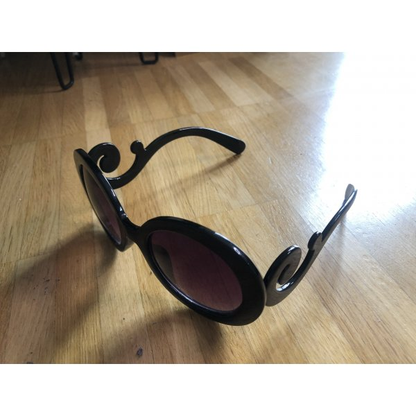 Dunkel Braun Shaded 55/22/135 Damen Sonnenbrillen