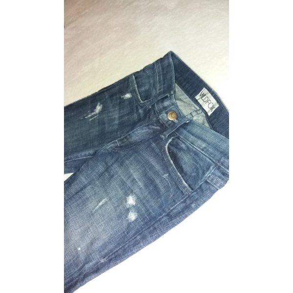 dunkelblaue designer wildfox jeans gr. 23