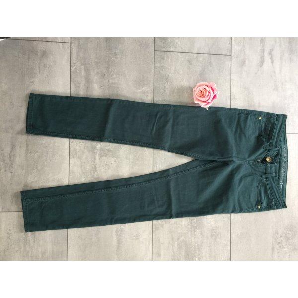 dunkelgrüne Jeans skinny von Mexx