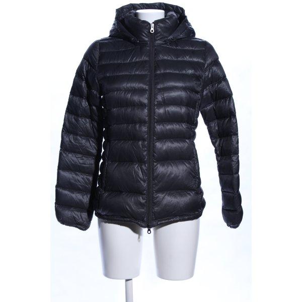 Duvetica Daunenjacke schwarz Steppmuster Casual-Look