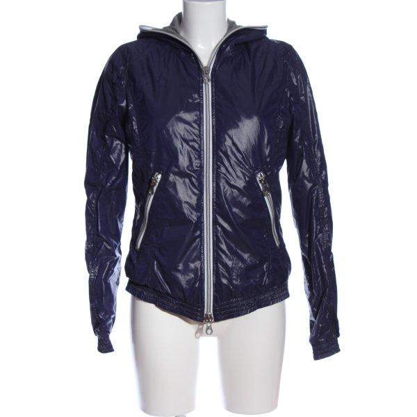 Duvetica Regenjacke blau Casual-Look