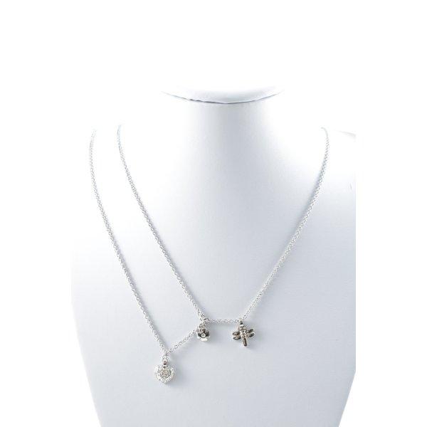 Dyrberg/Kern Silberkette silberfarben Casual-Look