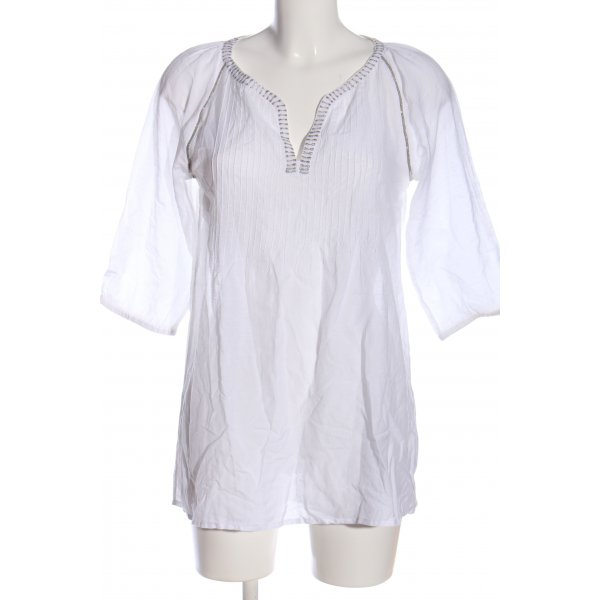 EAC Long-Bluse weiß Casual-Look