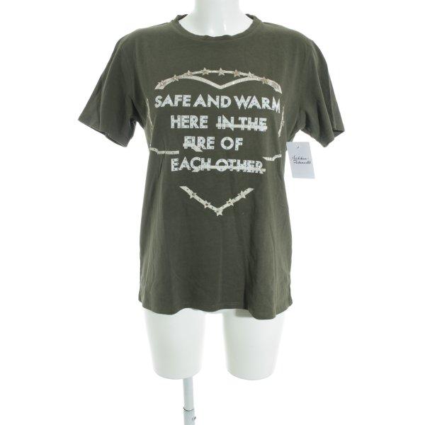 "Each & Other T-Shirt ""Robert Montgomery"" khaki"