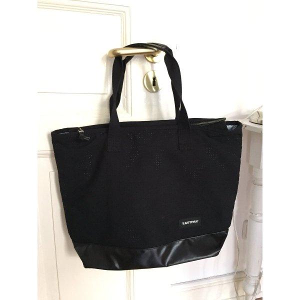 Eastpak Flask Tasche Canvas schwarz - NEU