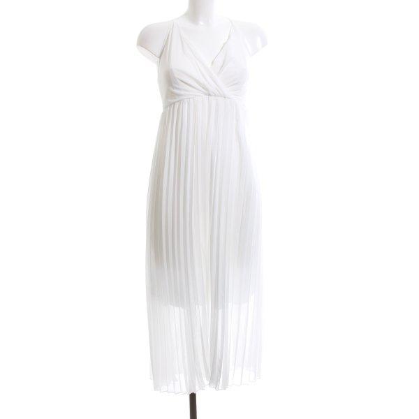 Ecowish Trägerkleid weiß Elegant