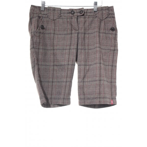 edc by Esprit 3/4-Hose Karomuster Casual-Look